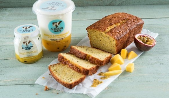 Mango, Passion Fruit and Poppy Seed Cake Recipe By Glenilen