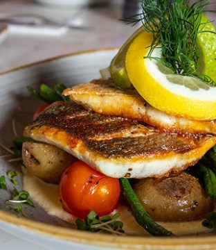 Mediterranean Sea Bass Recipe from Kealy's of Cloghran #DubPubDishes