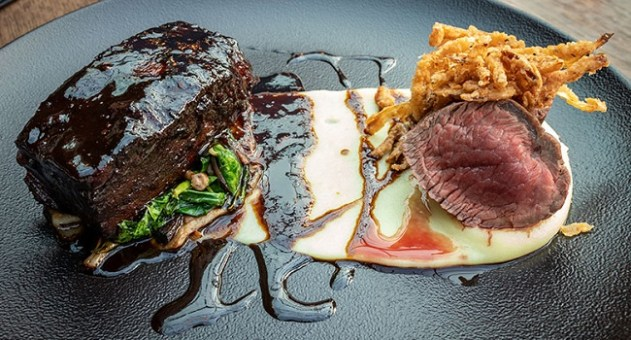 Duo of Irish Beef Recipe from Urban Brewing #DubPubDishes