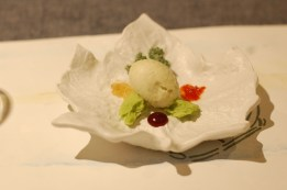 Dessert of sweet vegetables