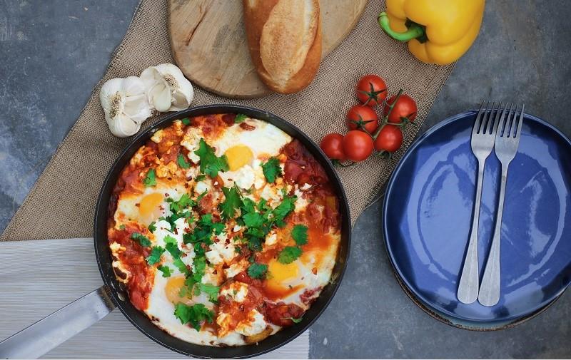 Middle Eastern Shakshuka Breakfast Recipe By Chef Jeeny Maltese