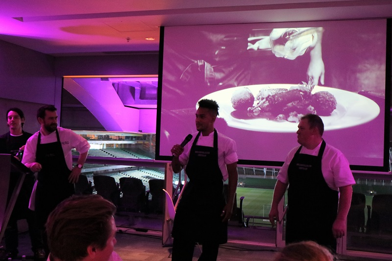 Chef Collab High Celebrations at The Aviva