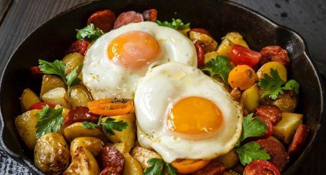 Keogh's Potato & Chorizo Breakfast Hash Recipe