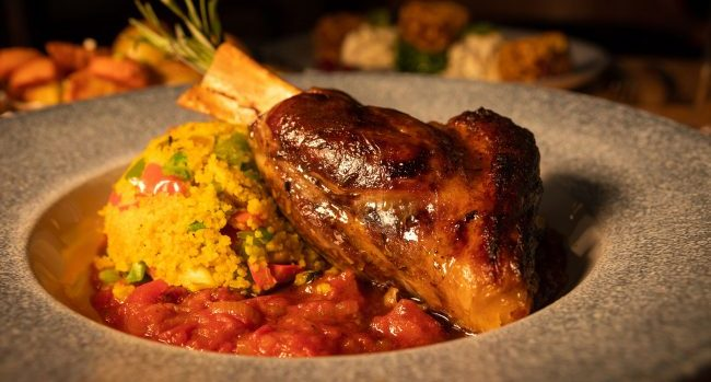Lamb Shank from Tom's Table at the Red Cow Moran Hotel – #DubPubDishes