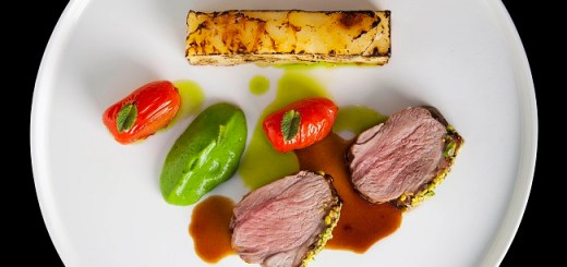 Pistachio Crusted Rump of Lamb Recipe By Chef Igor From The Gibson