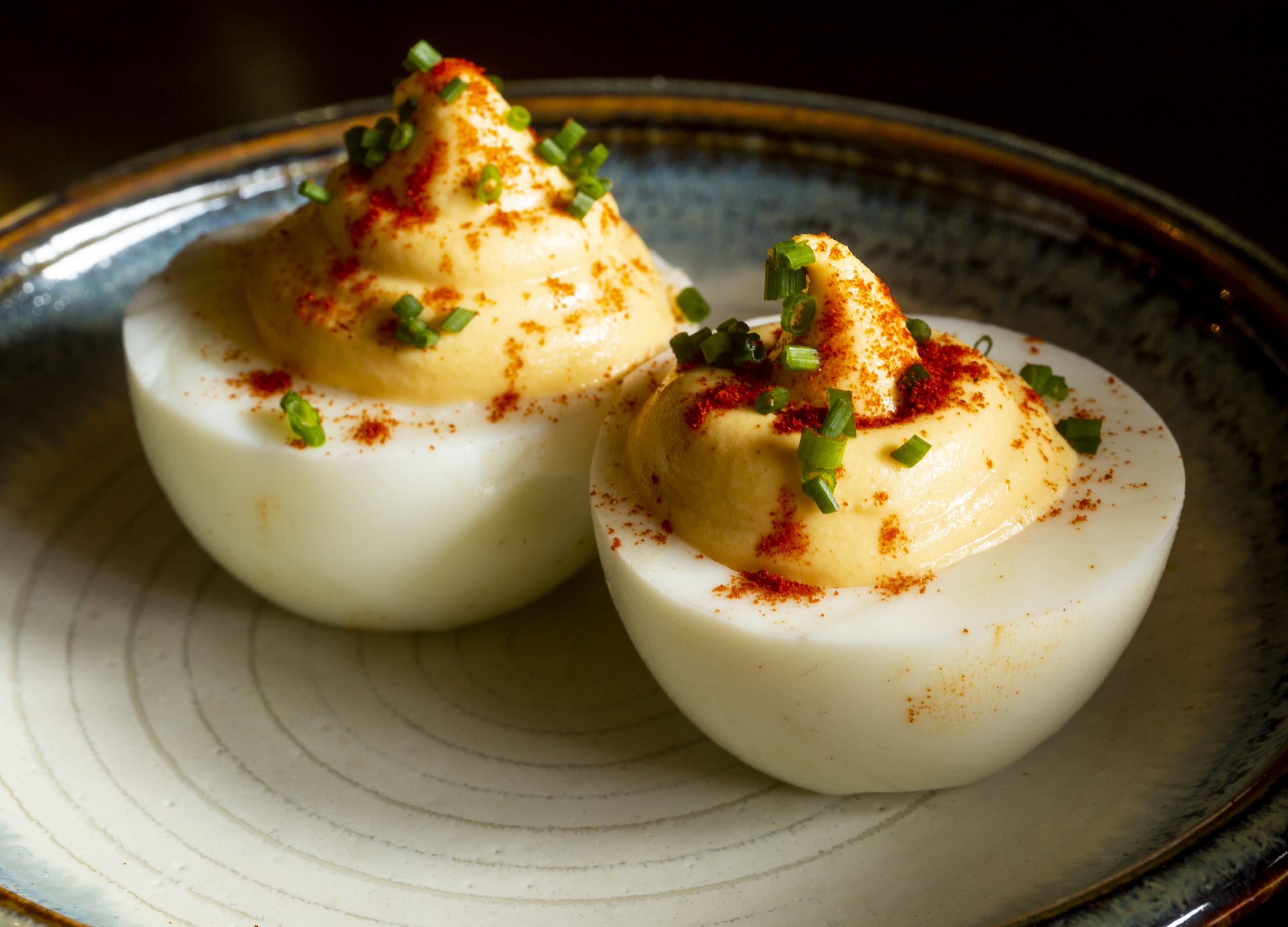 Delicious Deviled Eggs Appetizer Recipe by Spitalfields Pub & Restaurant
