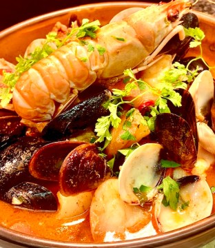 Portuguese Fish Stew Recipe (Cataplana) by Chef James Ausden of Inside Out Restaurant, Slane, Co. Meath