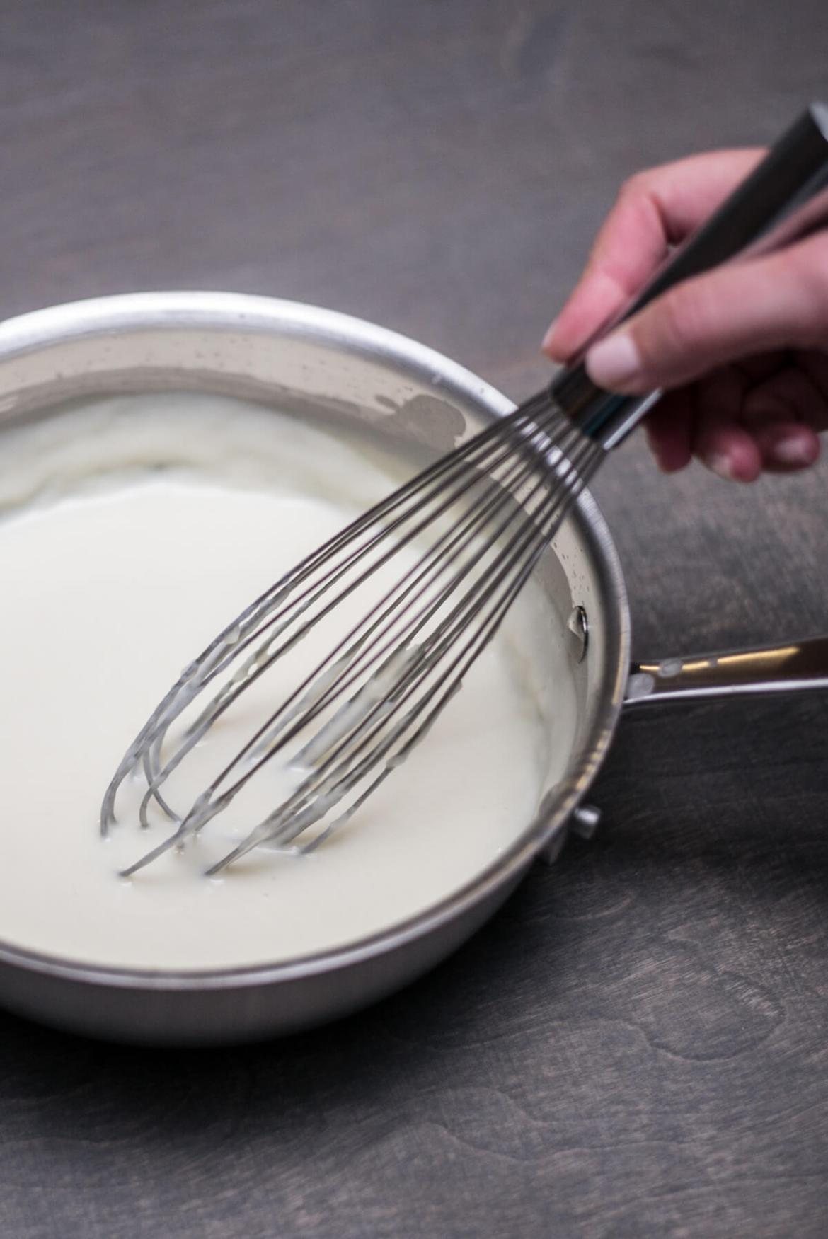 A Simple Bechamel Sauce is a great basic essential for other dishes