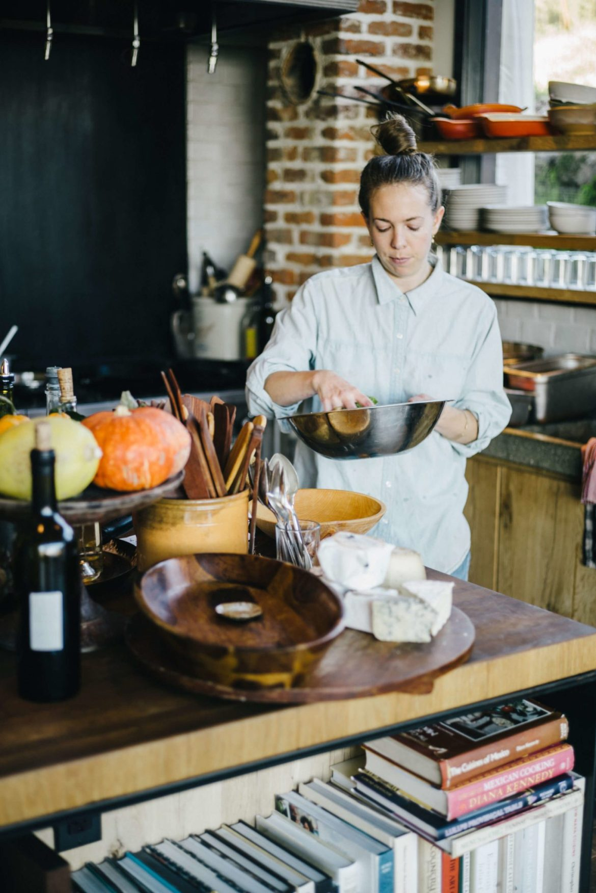 The Taste Edit visits Scribe Winery Hacienda in Sonoma with Emma Lipp in the kitchen