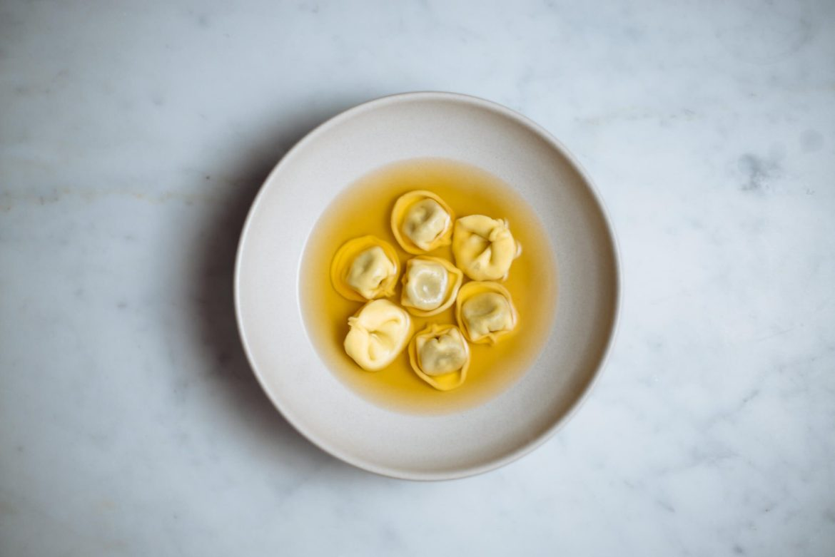 tortellini en brodo or tortellini in broth is a simple flavorful italian dish from bologna made by The Taste Edit