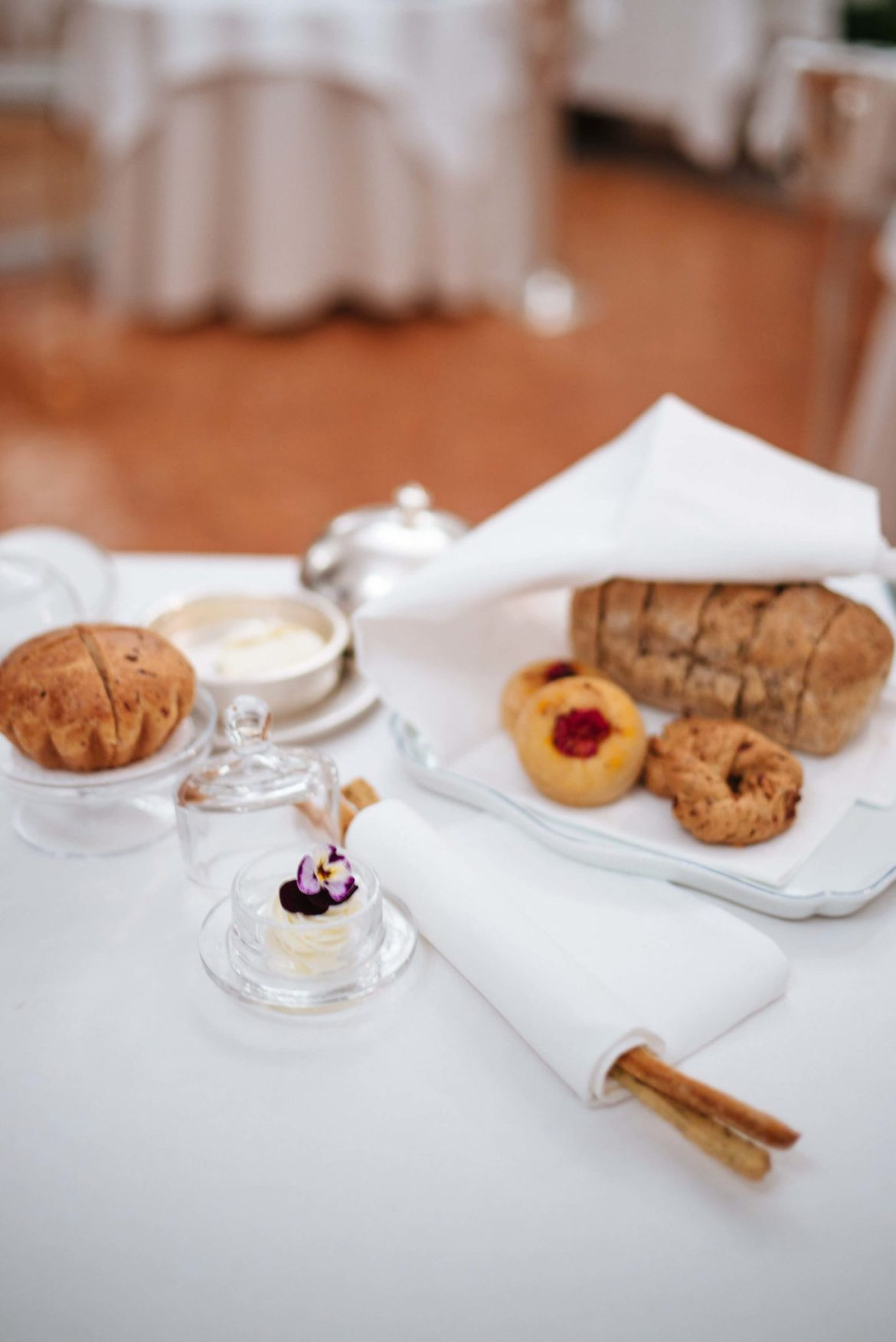 Bread ay Rossellini's Restaurant in Palazzo Avino, Ravello Italy, The Taste Edit