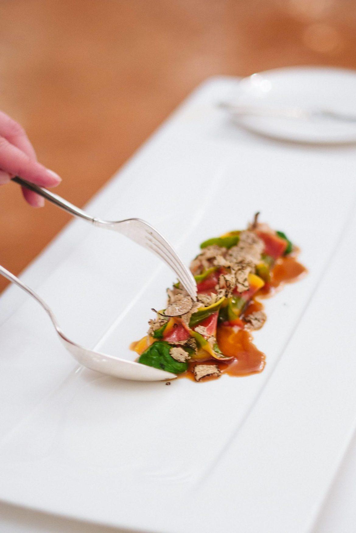 Wild Rabbit Ravioli at Rossellini's Restaurant in Palazzo Avino, Ravello Italy, The Taste Edit