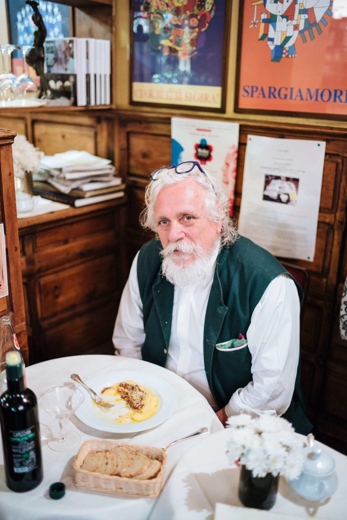 Chef Fabio Picchi at Cafe Cibreo in Florence, The Taste Edit