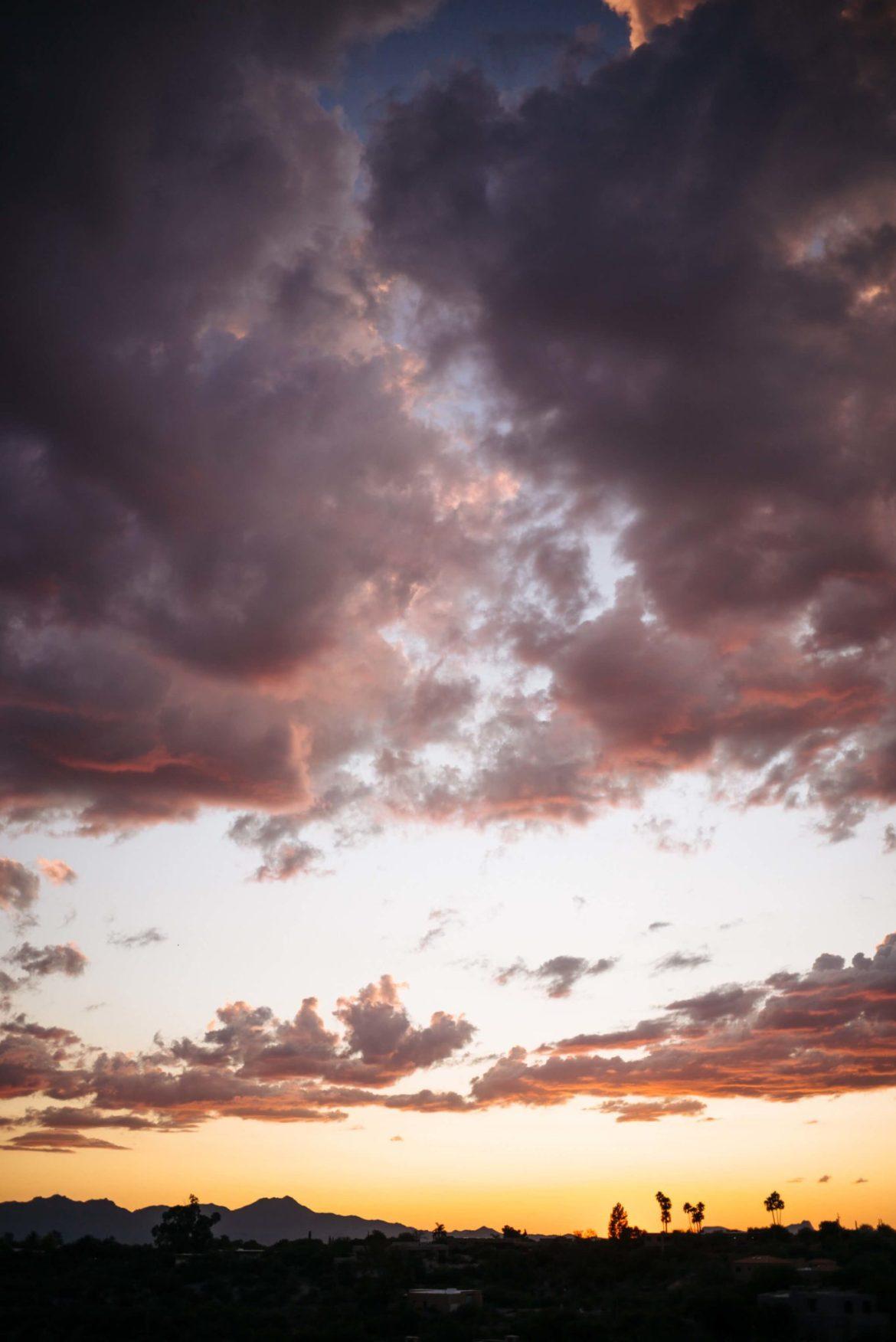 Sunset at the Hacienda del Sol, Tucson Arizona, The Taste Edit