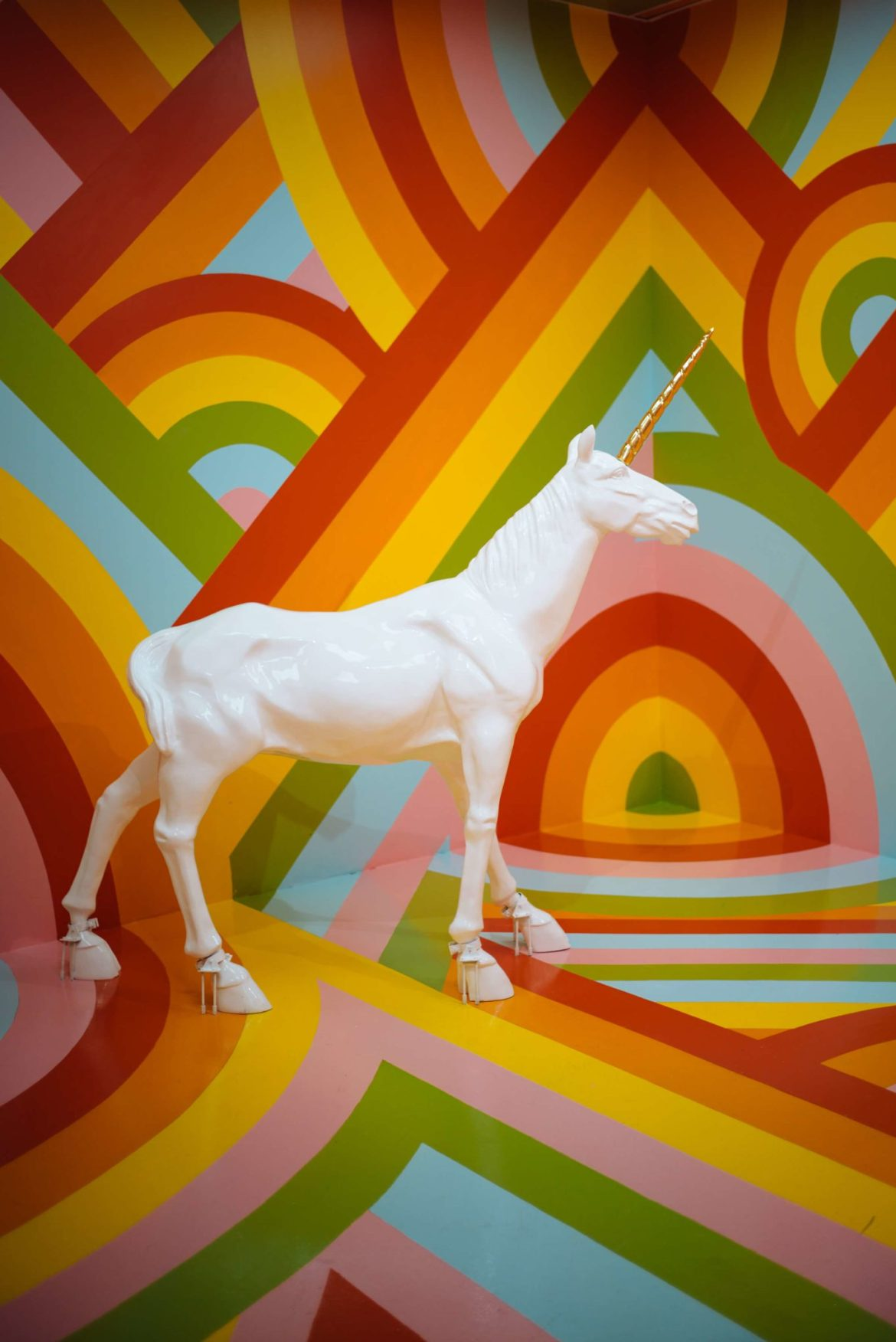 The colorful unicorn room at The Museum of Ice Cream San Francisco, The Taste Edit