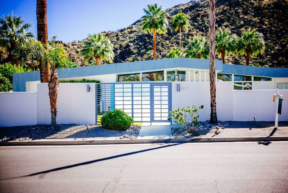 Tour the beautiful Mid Century Homes in Palm Springs, The Taste Edit