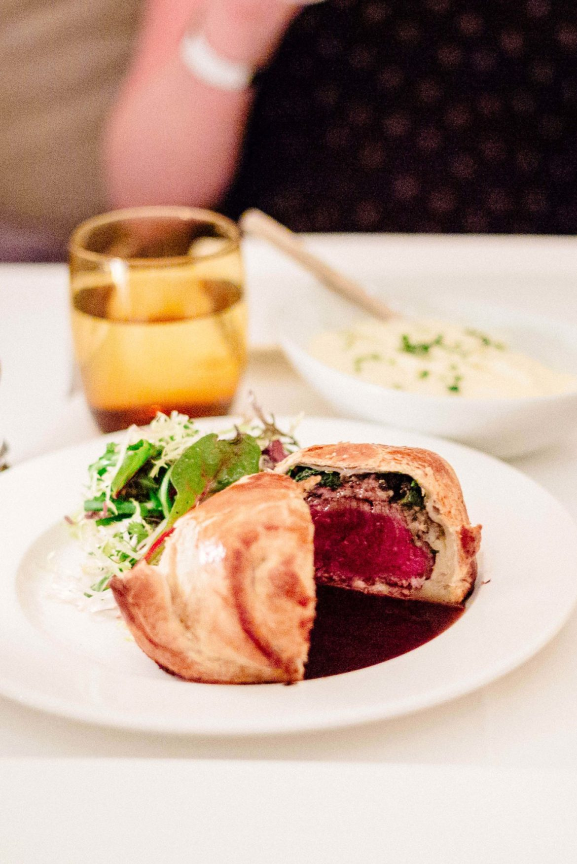 You must try the Beef Wellington from Mr Lyon in Palm Springs, The Taste Edit