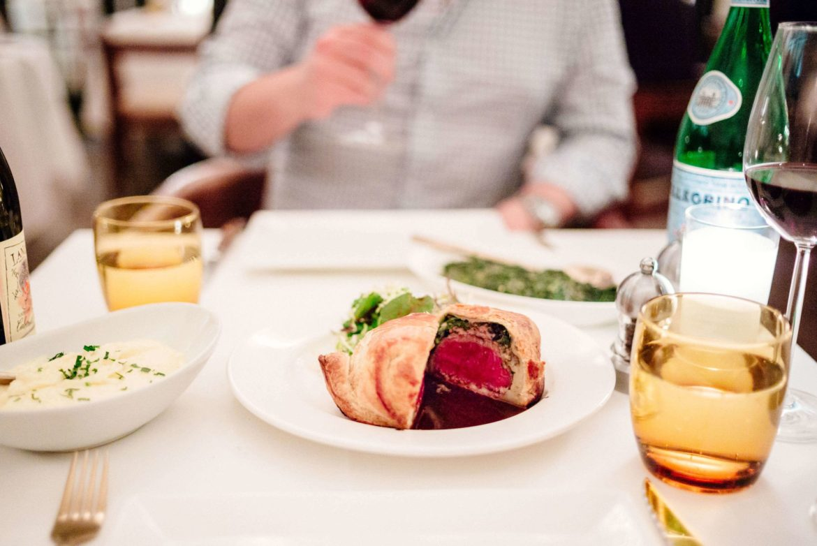Try the Beef Wellington from Mr Lyon in Palm Springs, The Taste Edit