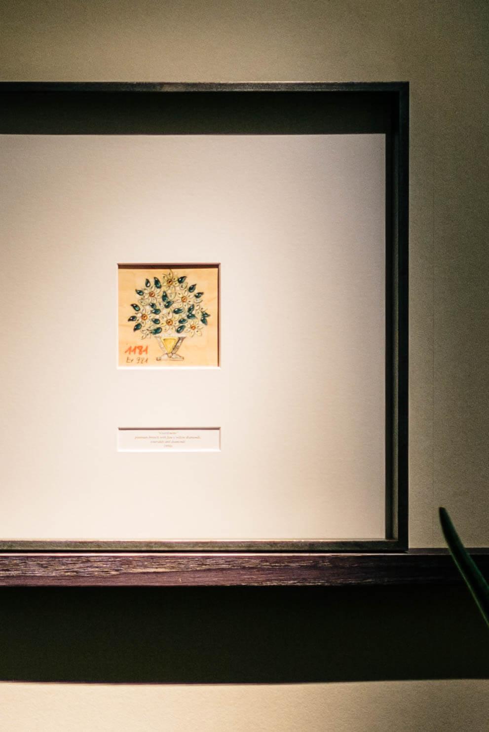 Hotel Bulgari Milano uses designs of broaches as artwork on the walls, The Taste Edit