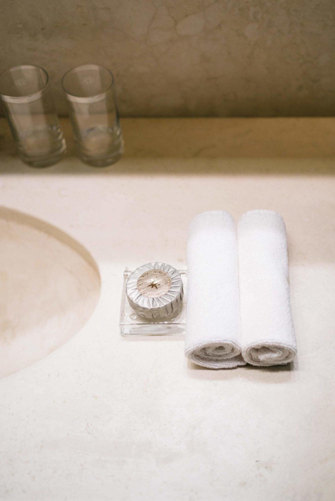 We loved the Bulgari toiletries offered at the Hotel Bulgari Milano, The Taste Edit