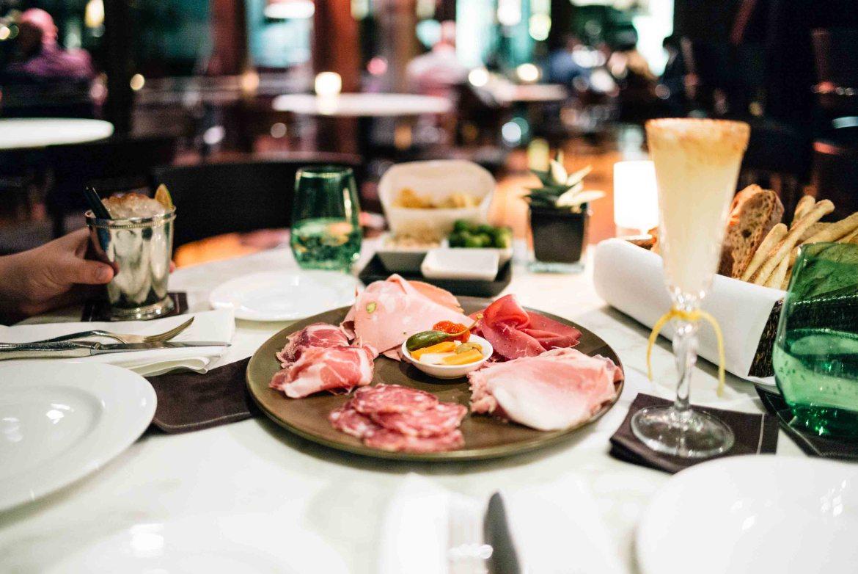Late night charcuterie and bar snacks at the Hotel Bulgari Milano bar, The Taste Edit