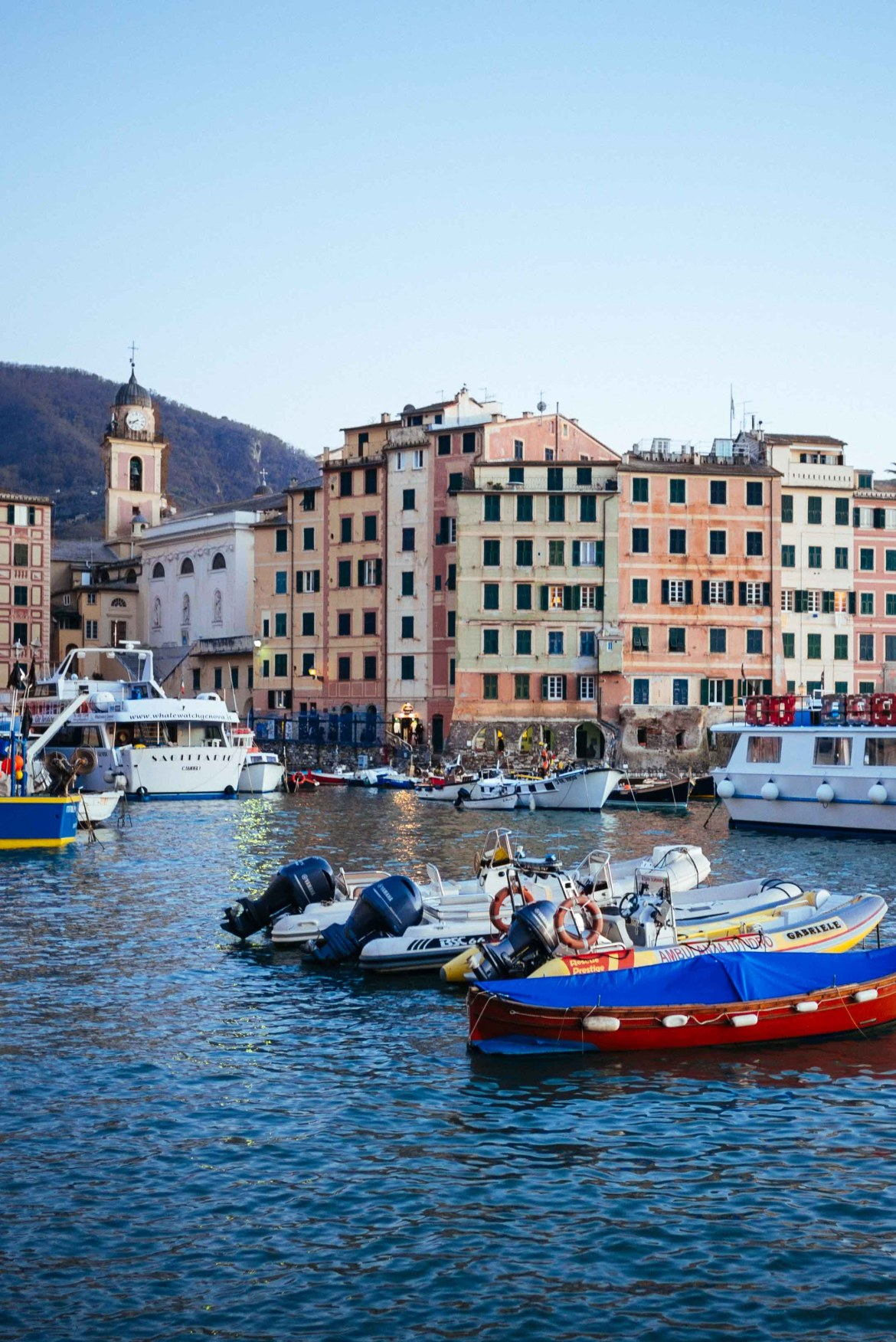 Visit this Italian Beach town that no one knows about - Camogli, Italy.