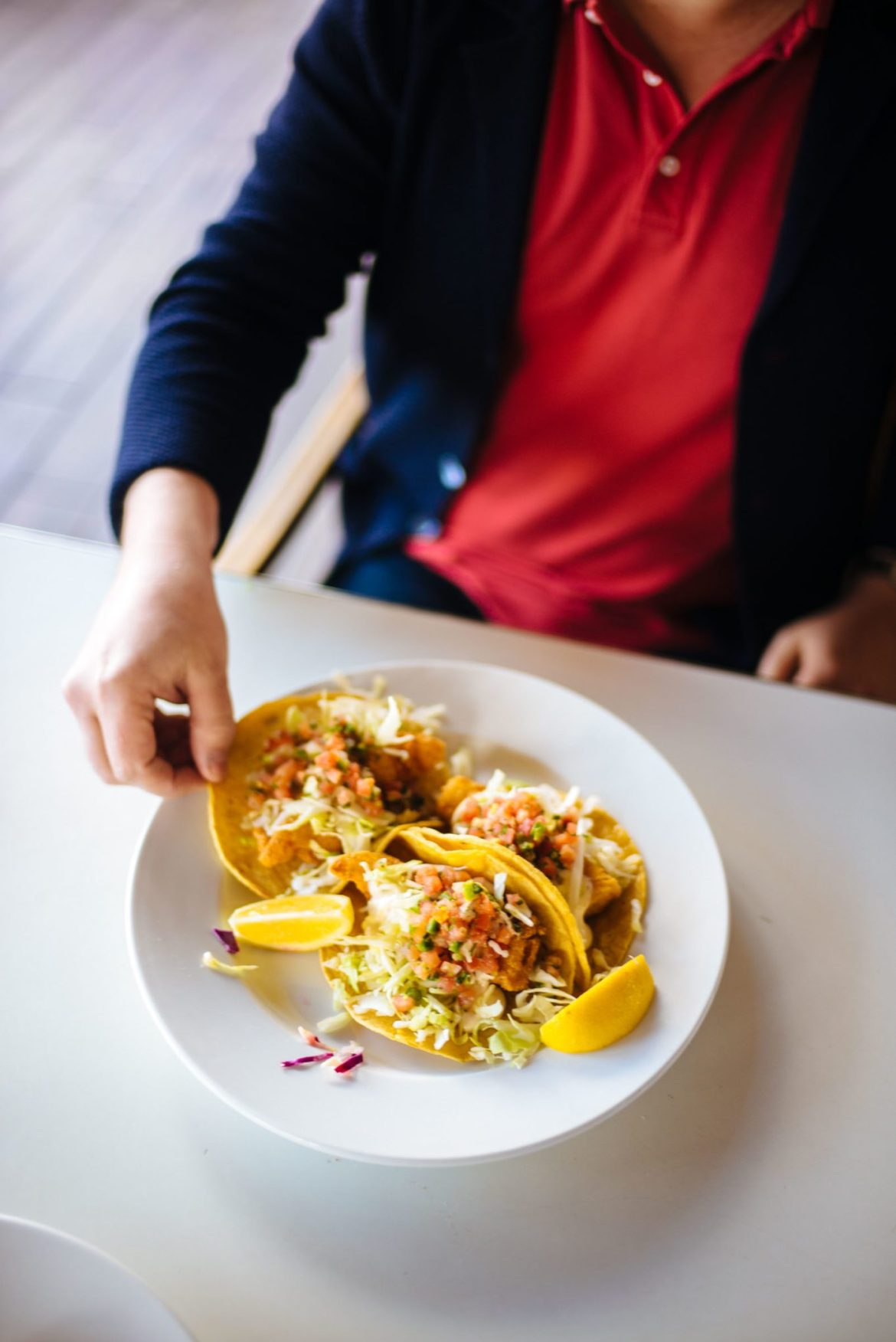 Find the best fish Tacos at Rubin and Ozzy's in Palm Springs a local recommendation given to the taste edit