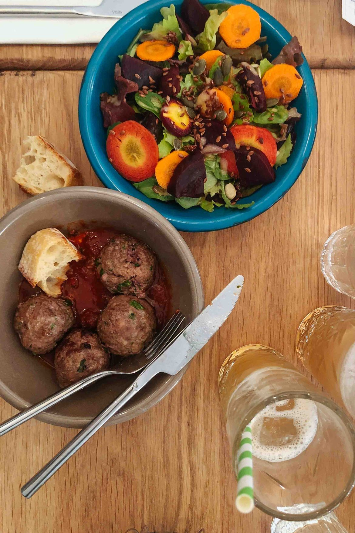 Looking for the best restaurants in Paris? Go to Balls who offers a modular menu of meatballs and sides - photo by kate leahy