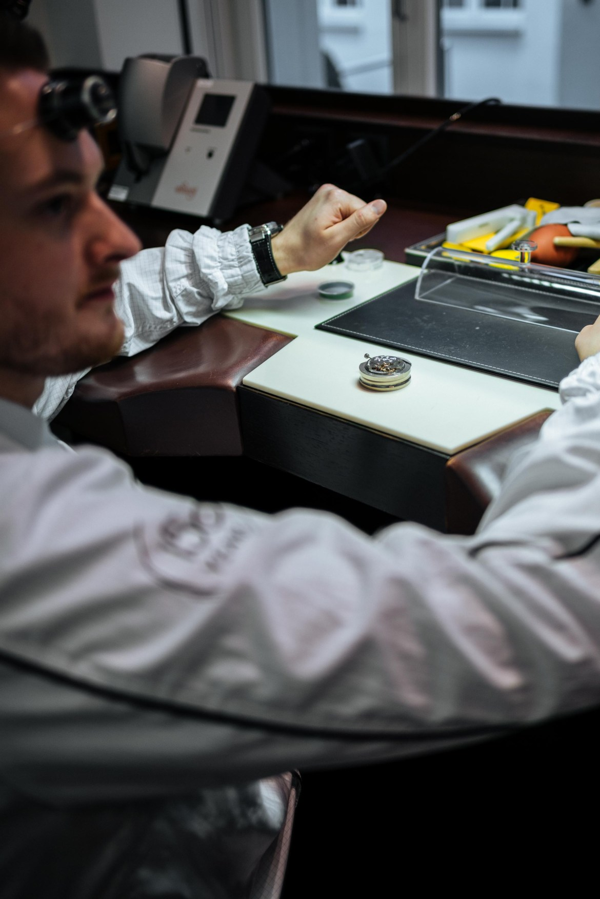 On Saturdays an IWC Watch maker is available to answer questions at the IWC museum in schaffhausen Switzerland