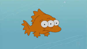 Blinky the Three-Eyed Fish was found in the Hudson River...has since become Governor of New Jersey