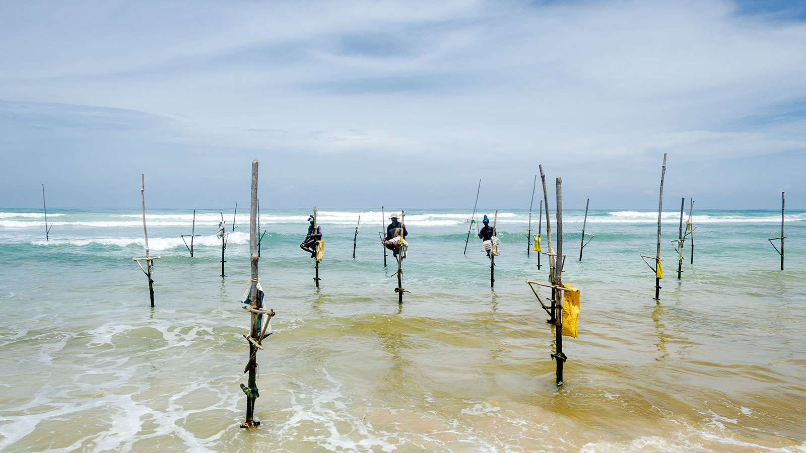 Are stilt fishermen just a tourist attraction?