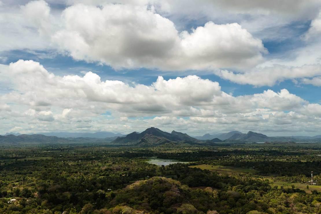 Widok z Sigiriji