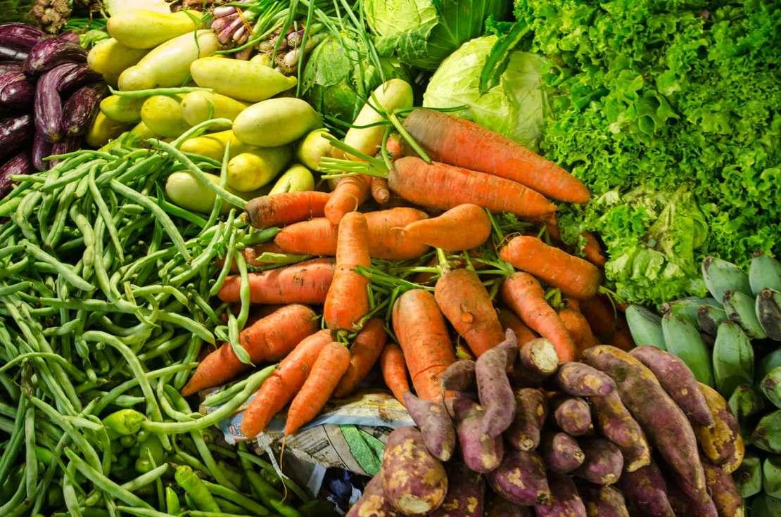 Warzywa uprawiane w Nuwara Eliya na Sri lance