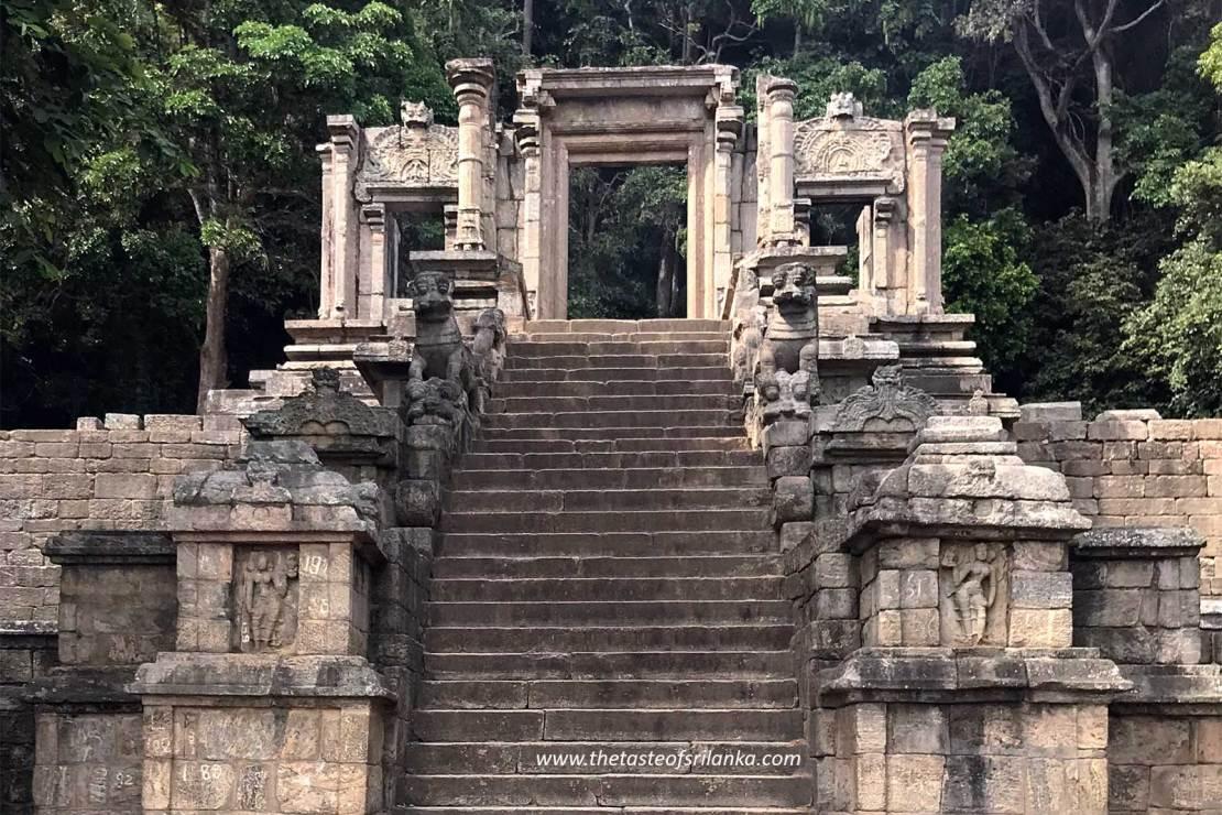 Yapahuwa, średniowieczna stolica Sri lanki