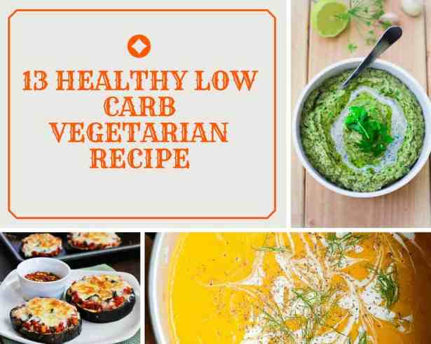 Low Carb Vegetarian Recipe