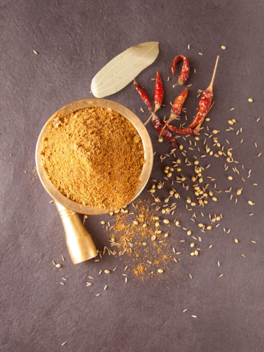 How to Make Homemade Biryani Masala Powder - Step by Step Video