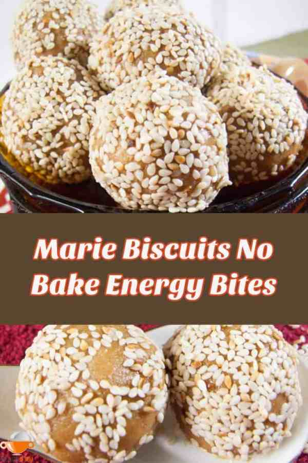 marie biscuits no bake energy bites
