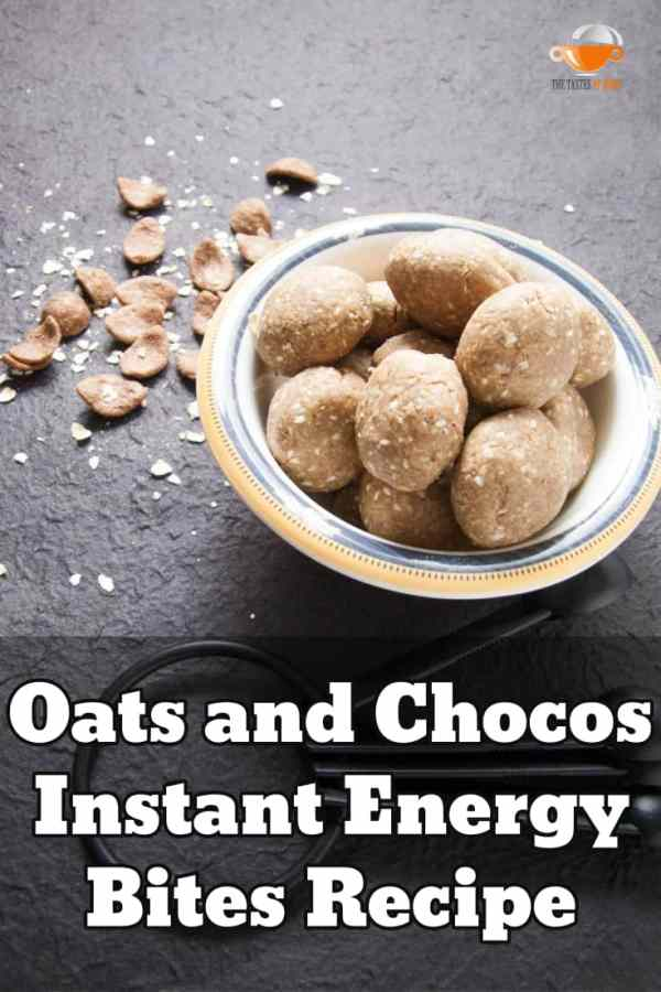 energy bites recipe