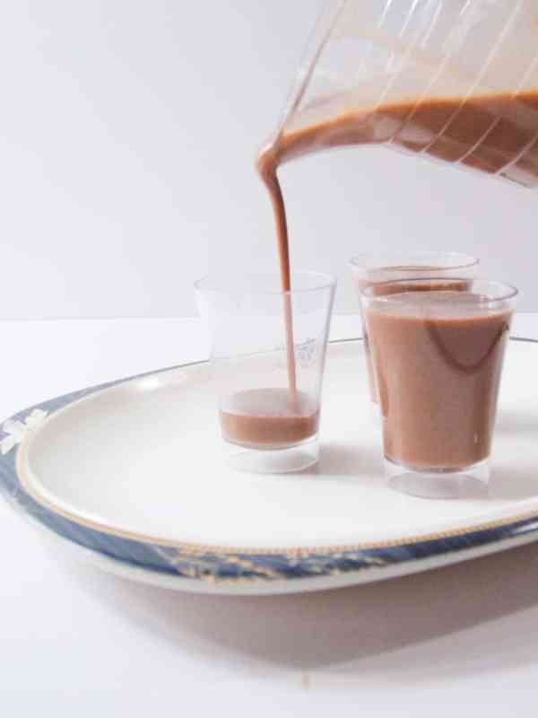 bourbon choco shots recipe