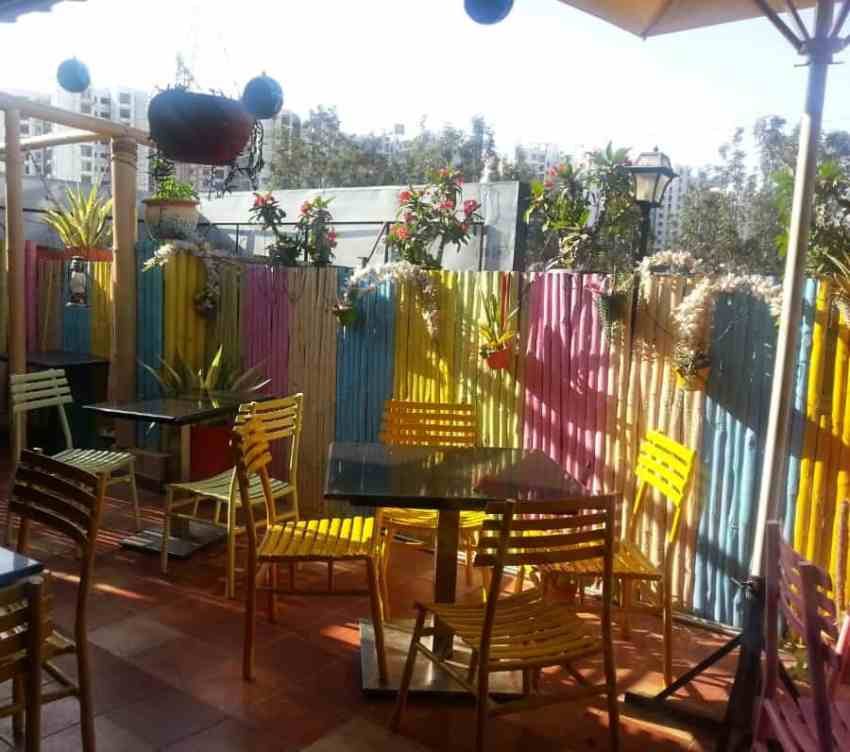 the mughal kitchen outdoor dining