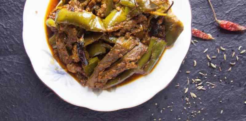 Hare Baingan Ka Jhukka Recipe – Green Eggplant Recipe