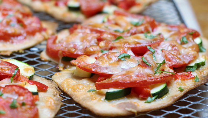 Fast Flatbread 3 Ways–Watch out Pizza
