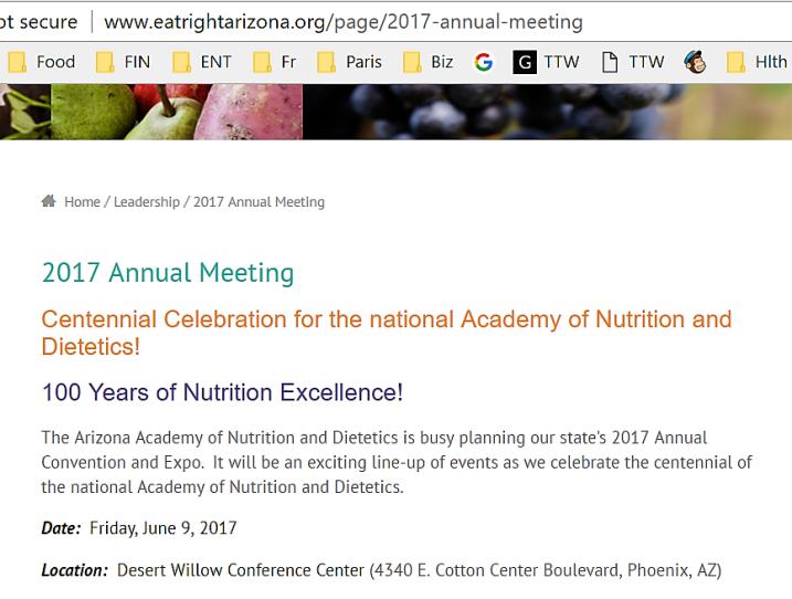 State Arizona Academy Conference 2017