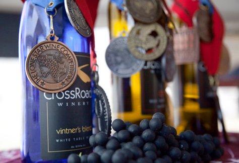 Crossroad Winery Awards