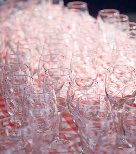 Austin Wine Festival 2009 - Wine Glasses