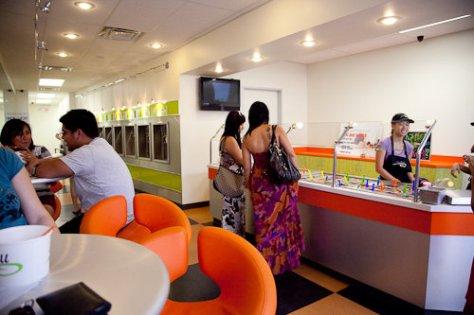 Swirll Yogurt Shop - Interior