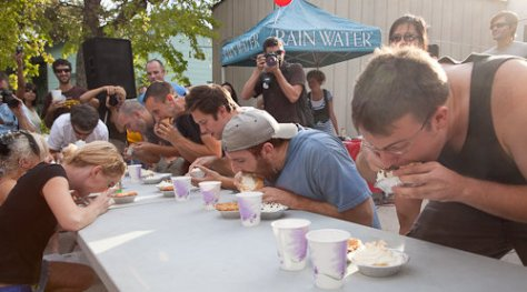 Sugar Mama's pie eating contest