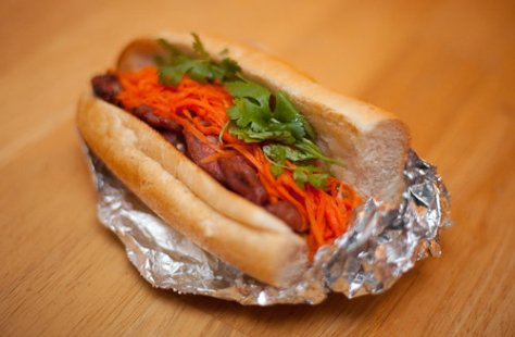 Me So Hungry Banh Mi Sandwich