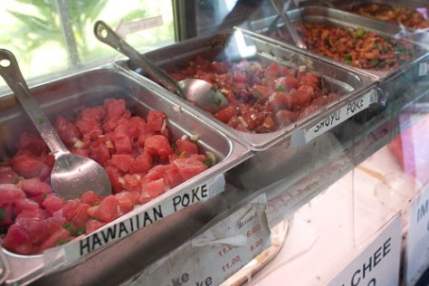 Poke Counter at Poke to your Taste in Hilo