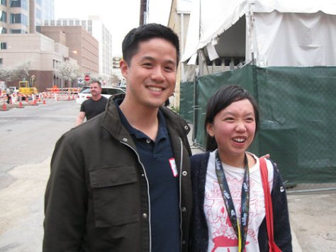 Thu Tran from Food Party with Peter Tsai